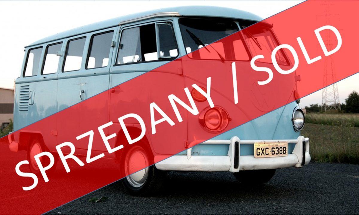 SPRZEDANY !!! Volkswagen Transporter T1, 1974r., 1500ccm