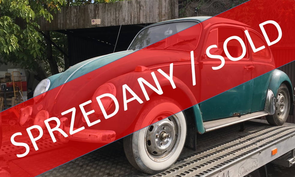 SPRZEDANY !!! Volkswagen 1500, 1965r.