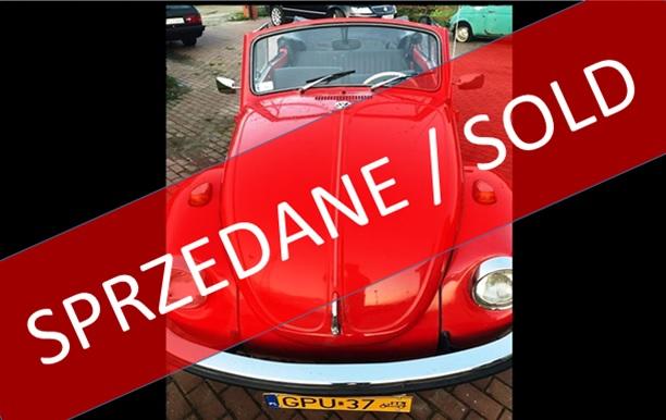 SPRZEDANY !!! Volkswagen 1302, 1971r., 1600ccm, Kabriolet